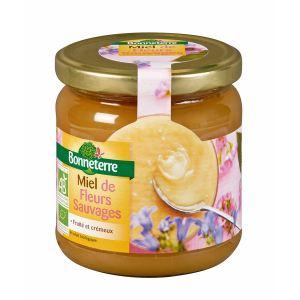 Bonneterre Miel de fleurs sauvages bio (500g)