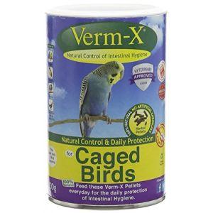 Verm-X Graine pour oiseaux en cage (100g)