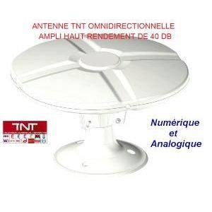 Tonna 263590 antenne d 39 int rieur fm et vhf uhf for Antenne numerique interieur