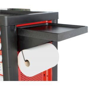 Ampro T47031 - Tablette et support de rouleau pour servante d'atelier
