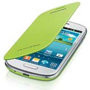 Samsung EFC-1M7FMEC - Mini Étui en cuir à rabat pour Galaxy S3