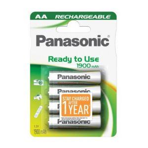 Panasonic Pack de 4 piles AA NiMH infinium 2100 mAh
