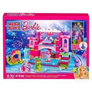 Mega Bloks 80241 Barbie : Château aquatique