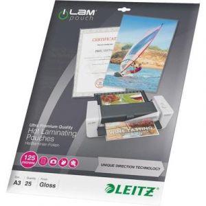Leitz 25 pochettes de plastification iLAM 125 microns UDT A3