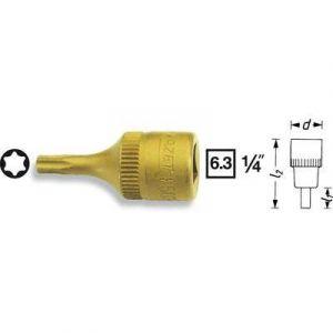 """Hazet 8502-T30 - Douille Torx 6.3 mm (1/4"""""""") T 30 Longueur 28 mm"""