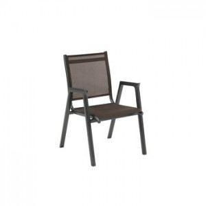 kettler fauteuil de jardin empilable scirocco en aluminium et textil ne comparer les prix avec. Black Bedroom Furniture Sets. Home Design Ideas