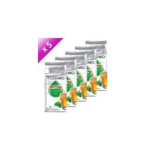 Tassimo 5 paquets de 8 dosettes T-Discs Twinings : Thé vert à la menthe