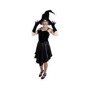 Déguisement sorcière noire Sibylle adulte