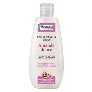 Floressance Amande Douce - Lait de toilette visage haute tolérance
