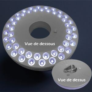 Lampe à led pour parasol 48 LED