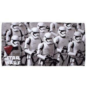 Character World Serviette de bain Stormtroopers Star Wars Ep7 Order (150 x 75 cm)