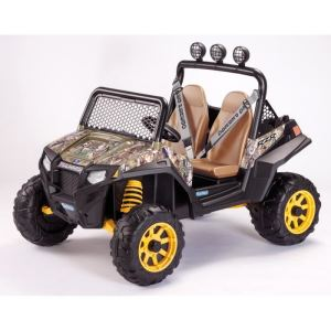 Peg Perego Buggy Polaris Ranger RZR 900 électrique 2 places