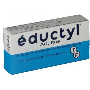 Techni pharma éductyl Adultes - 12 Suppositoires