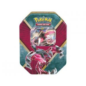 Asmodée Pokebox Yveltal - Carte Pokemon boite métal rouge et bleu 878c