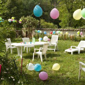 Table grosfillex vega blanc comparer 7 offres Salon de jardin grosfillex vega blanc