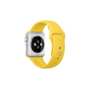 Apple MM992ZM/A - Bracelet sport jaune Watch 42 mm