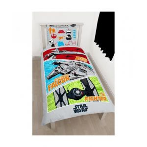Parure de couette Star Wars Xwing fighter (140 x 200 cm)