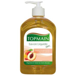 Mystbrand 553608 - Distributeur savon mains glycériné pêche (500 ml)