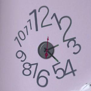 Horloge murale sticker Design New Way