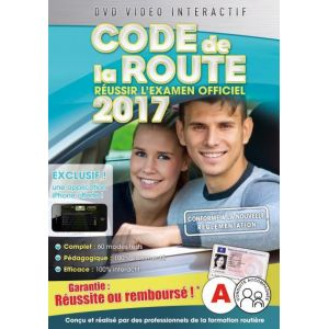 code de la route 2017 180 modes tests 3 dvd comparer avec. Black Bedroom Furniture Sets. Home Design Ideas