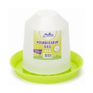 Plume & compagnie Nourrisseur plastique 5 kg