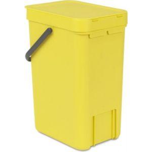 poubelle cuisine plastique jaune comparer 67 offres. Black Bedroom Furniture Sets. Home Design Ideas