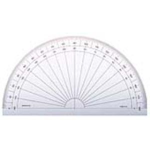 Minerva Rapporteur 180° demi circulaire 15 cm