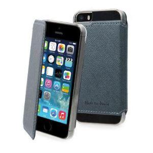 Muvit 1407260 - Housse à clapet pour iPhone 5S / 5