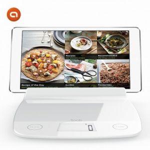 Aubecq 1021 - Balance électronique 2.0 avec insert pour tablette ou Ipad