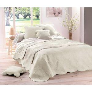 couvre lit boutis et 2 housses coussin 60 x 60 cm. Black Bedroom Furniture Sets. Home Design Ideas