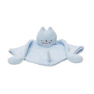 Trousselier Doudou triangle Chat bleu