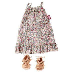 Gotz Robe d'été avec sandales pour poupée (45-50 cm)
