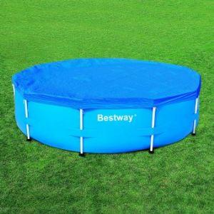 Bestway 58036 - Bâche 4 saisons pour piscine tubulaire ronde Ø305 cm