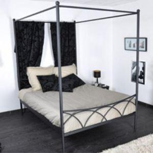 Baldaquin pour lit Sweet (160 x 200 cm)