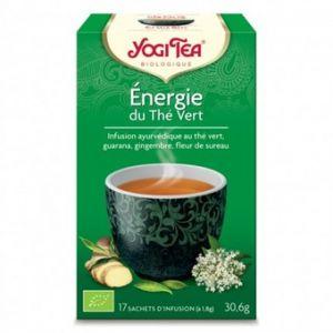 Yogi Tea Thé Green Energy - Boîte de 17 sachets individuels
