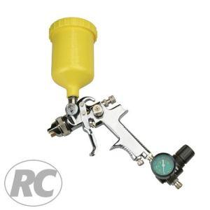 Rodcraft 8107 - Pistolet à peinture HVLP Godet 0,6 l Buse standard 1,4 mm