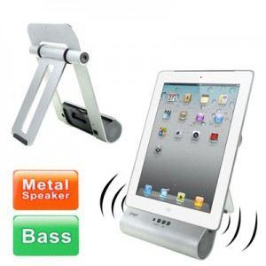 Support de recharge avec haut-parleur pour iPad