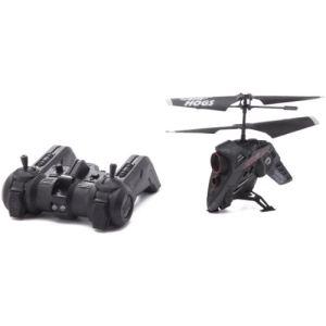 Air Hogs Hélicoptère radiocommandé Hawk Eye avec fonction caméra