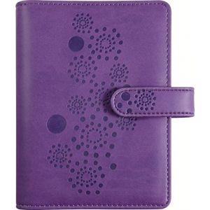 Exacompta 42444E - Exatime 10x14 Flora SAD violet