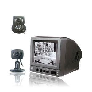 Extel WESV 87101 SER.R3 - Kit videosurveillance filaire avec 2 caméras noir et blanc
