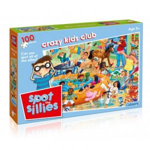 Gibsons Puzzle John Francis Crazy Kids Club 100 pièces