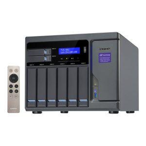 Qnap TVS-882T - Serveur NAS 6 Baies SATA Gigabit Ethernet