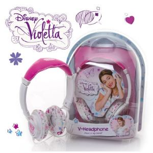 5184 - Casque Disney Violetta