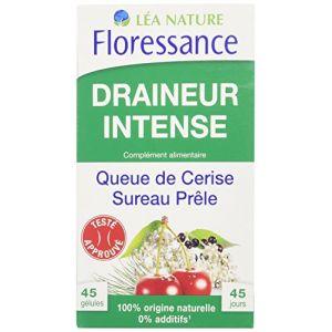 Floressance Draineur Intense - 45 gélules queue de cerise et sureau prêle