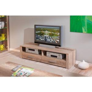 meuble tv chene brut comparer 63 offres. Black Bedroom Furniture Sets. Home Design Ideas