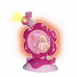 Lexibook Réveil avec projecteur Barbie