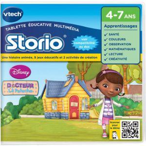Vtech Jeu tablette Storio 2 et générations suivantes : Docteur la Peluche
