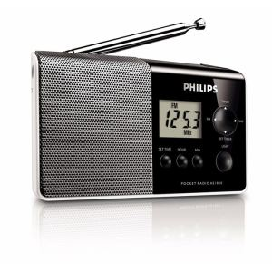 Philips AE1850/00 - Radio portable analogique avec fonction horloge