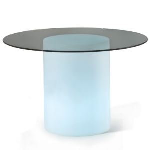 Slide Table ronde lumineuse Arthur