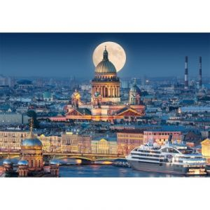 Castorland Fullmoon Over St. Isaac's Cathedral - Puzzle 1000 pièces